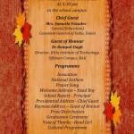 Annual Award and Graduation Ceremony - Invitation